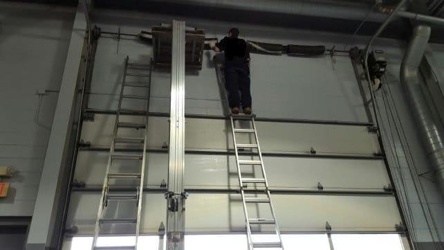 Commercial spring repair