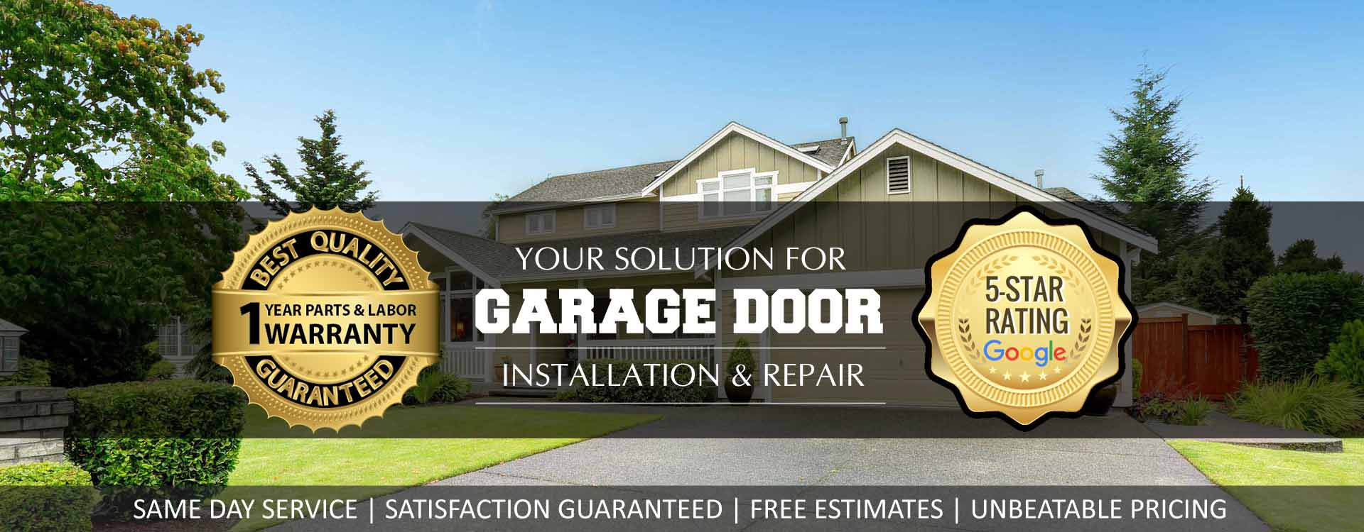 residential garage door canada