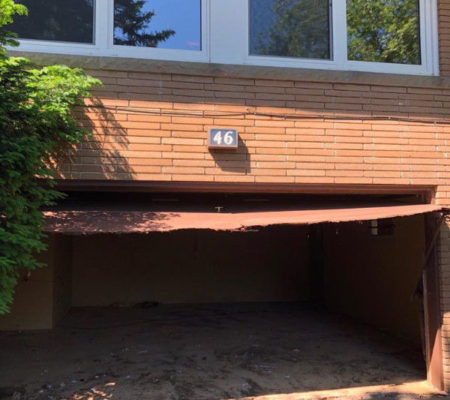 garage door repair after