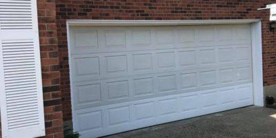 before - garage door