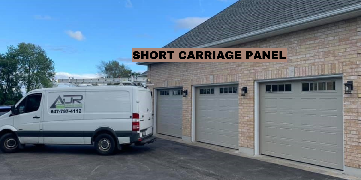SHORT CARRIAGE GARAGE DOOR